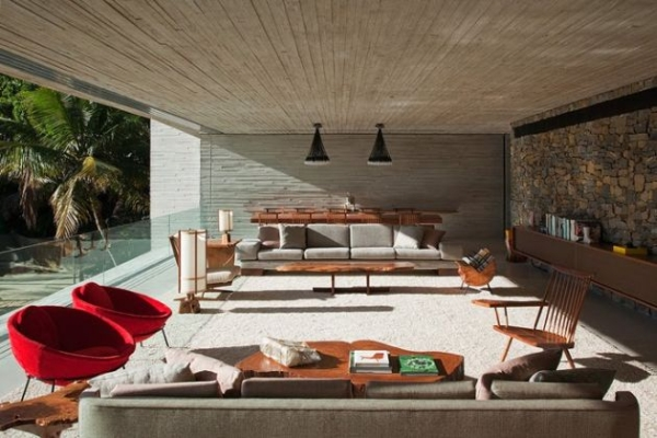 The Paraty House by Marcio Kogan Architects - 09
