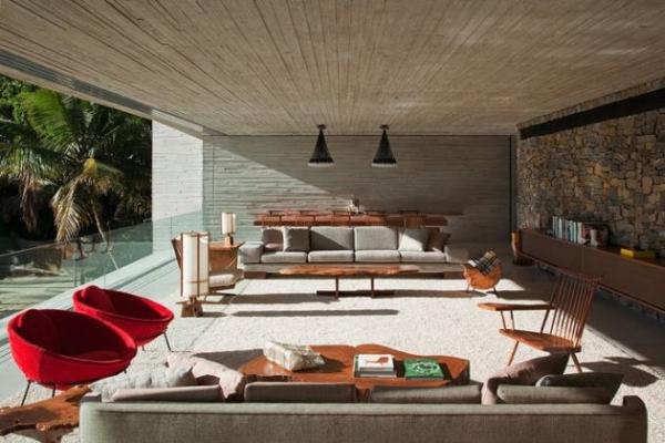 The Paraty House by Marcio Kogan Architects - 09
