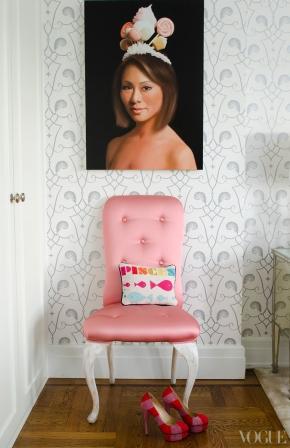 Apartamentul Alinei Cho.