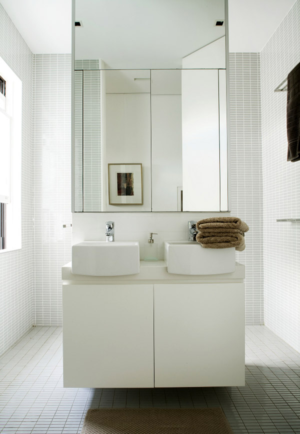 Bathroom from House Savas Monaco by Tribe Studio.  Photo - Amanda Prior