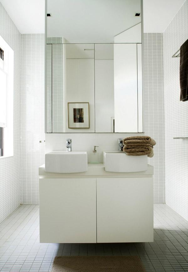 Bathroom from House Savas Monaco by Tribe Studio.  Photo - Amanda Prior